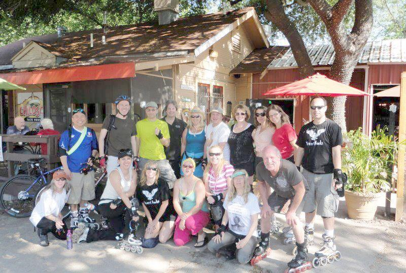 Group Picture 2012 Breakfast Taco Brewery Skate